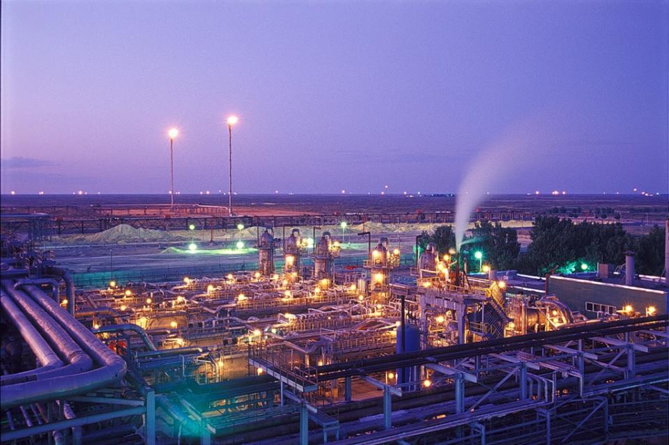 Astrakhan Gas Field